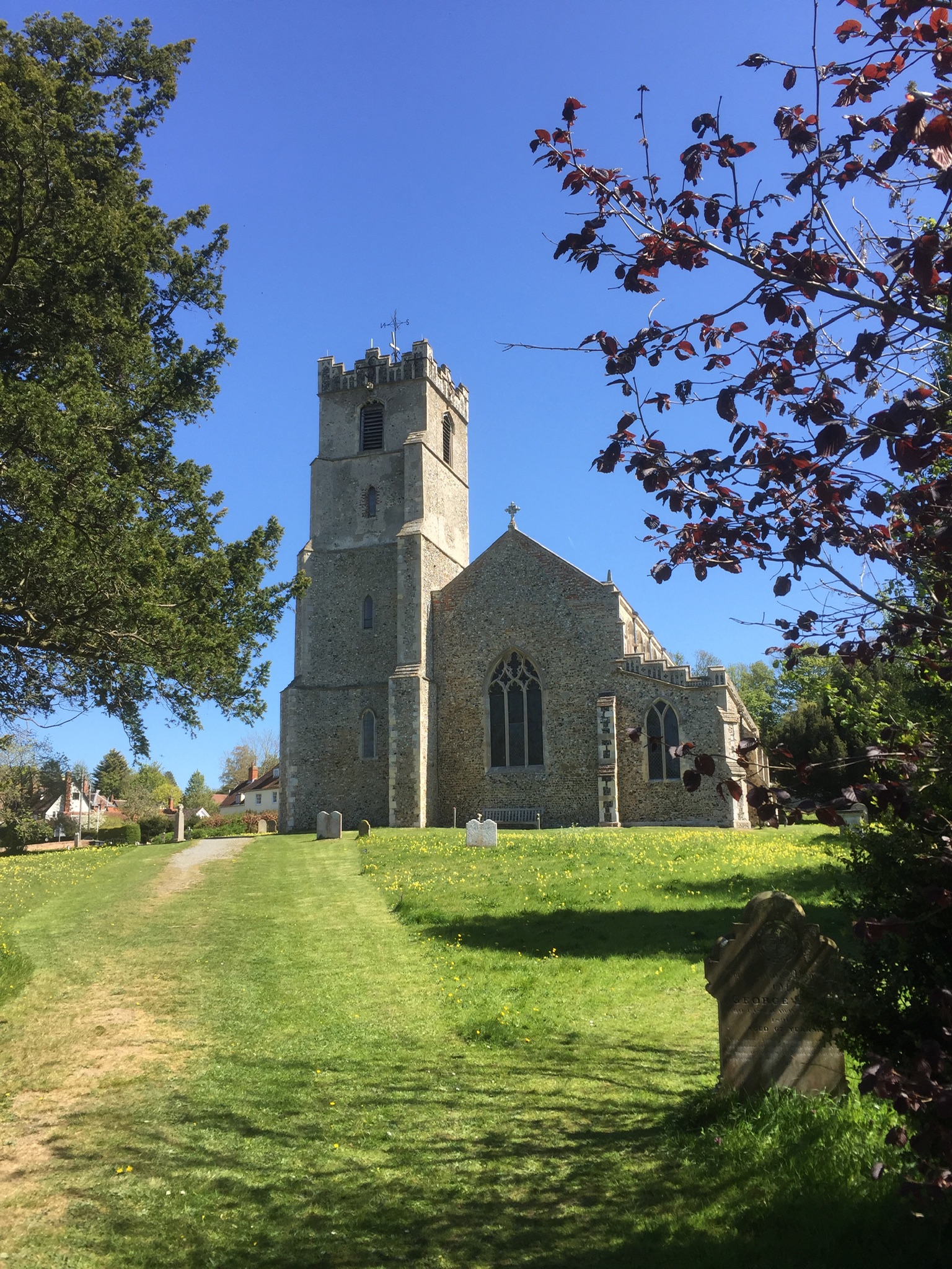 Coddenham church