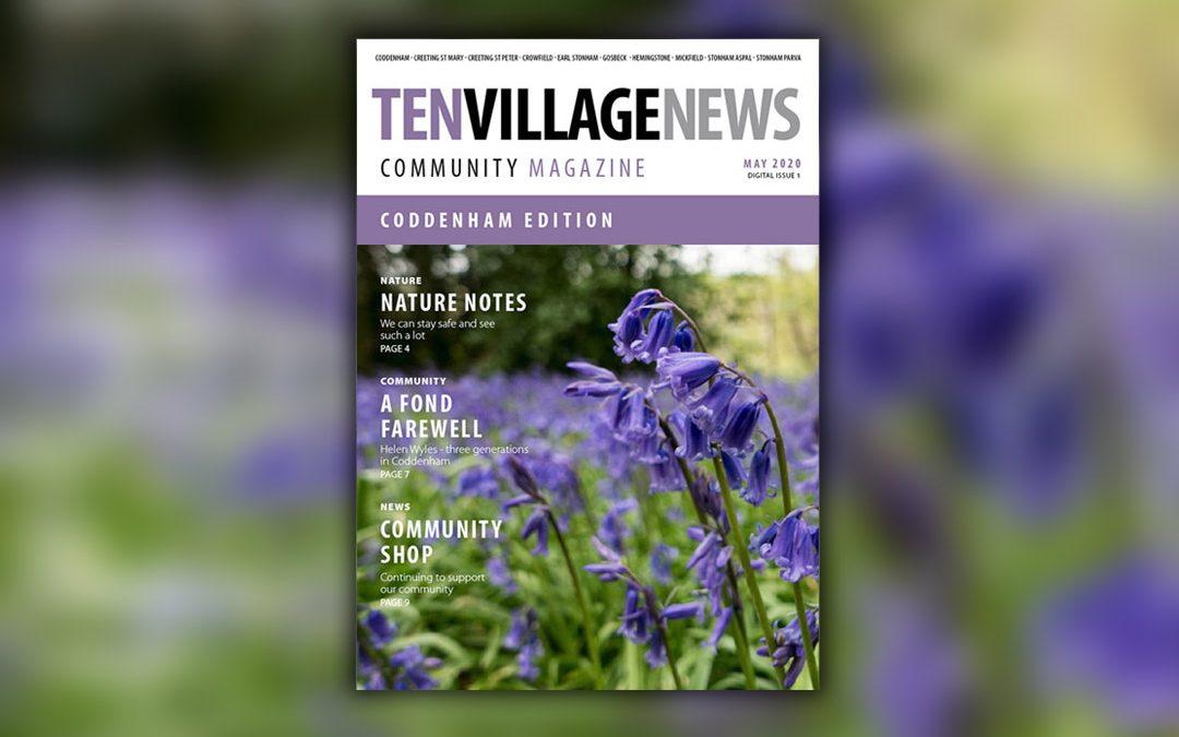 Coming Soon. Your Digital Ten Village News – Coddenham Digital Edition.