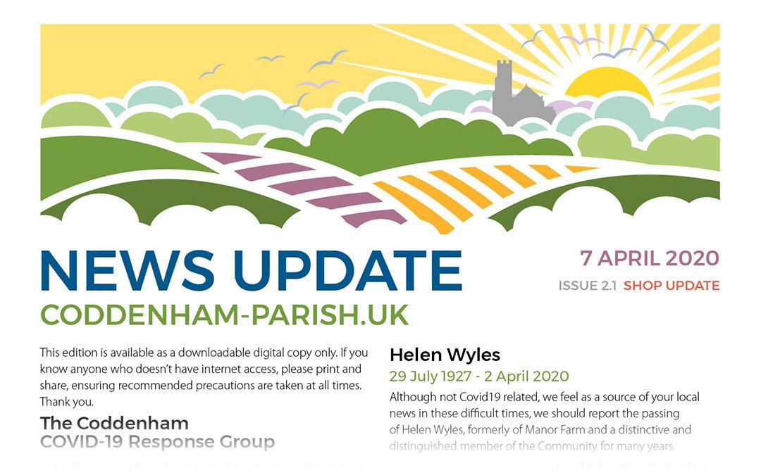 Coddenham Parish Newsletter No 2 – UPDATED – Available Online.