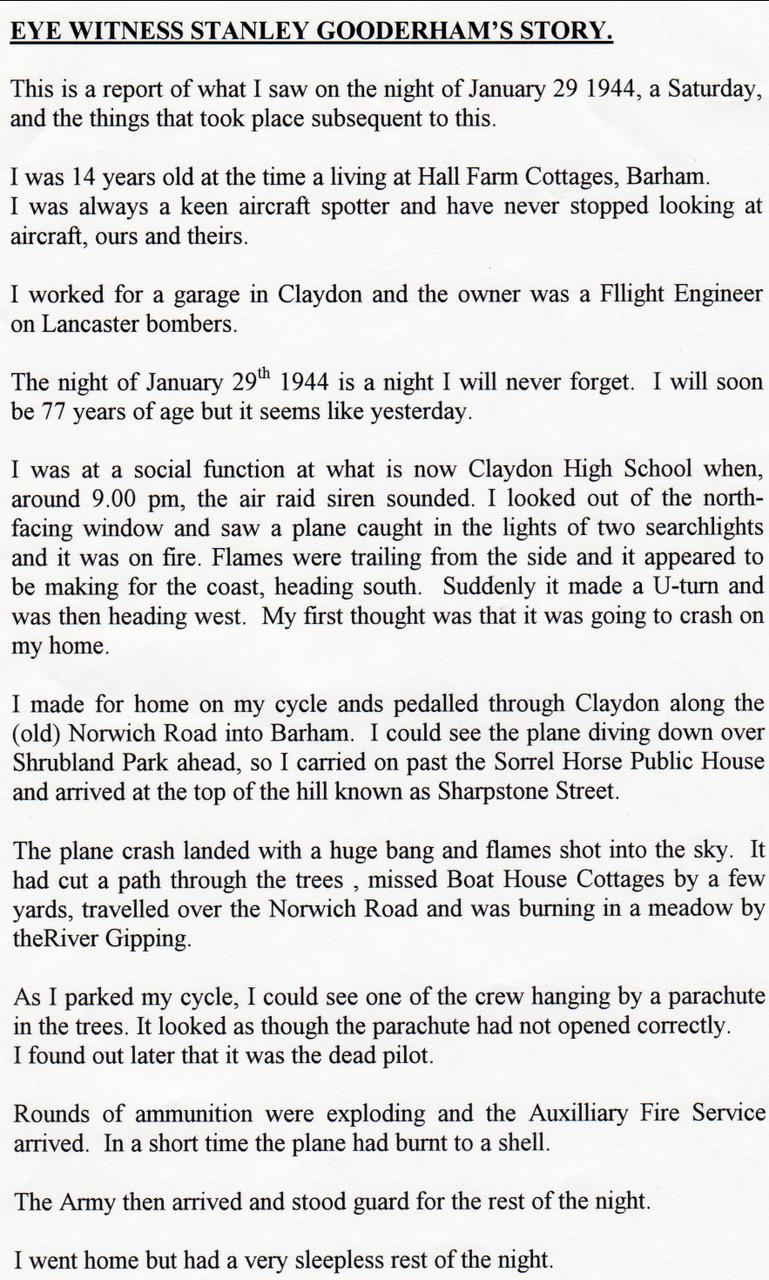 Stanley Gooderham's Story