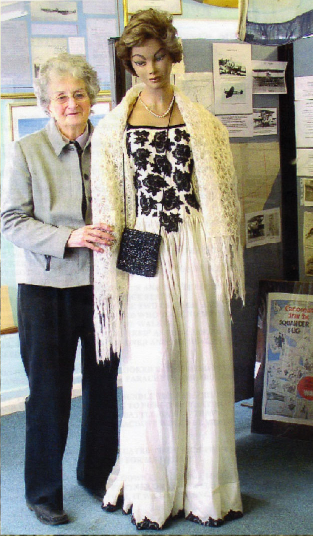 Myrtle Radcliff Ball Gown WW2 recollections