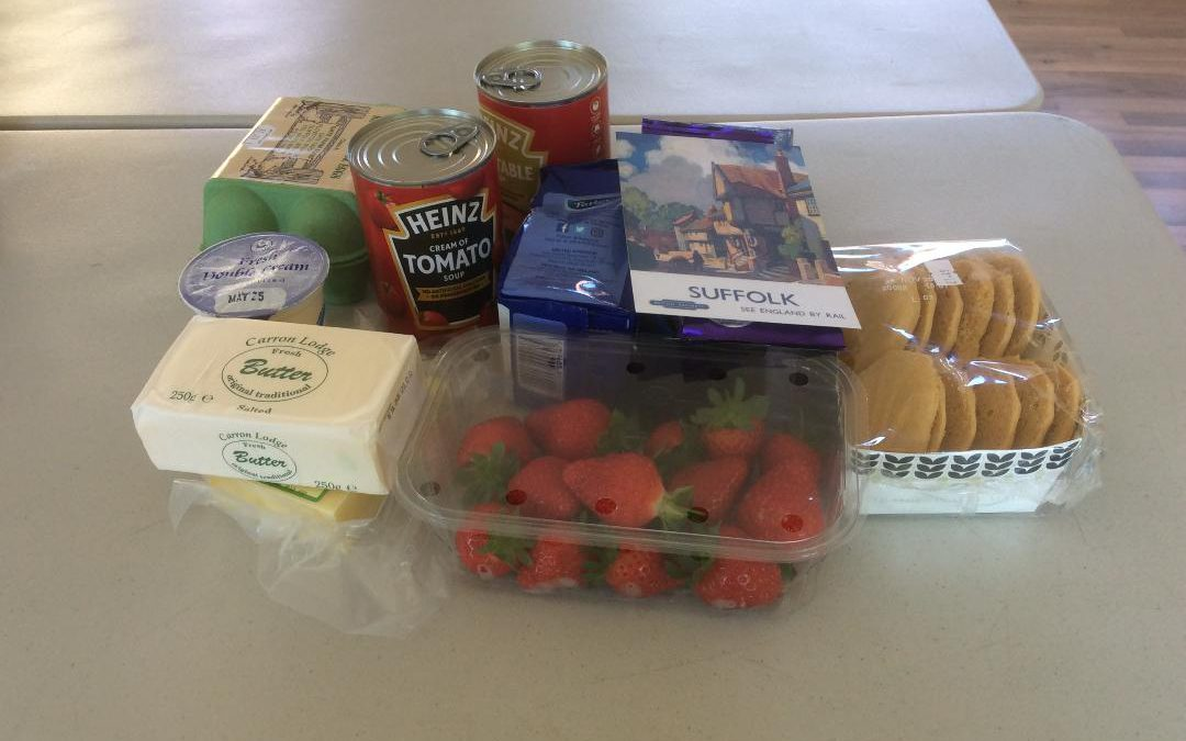 Tasty treats delivered to local residents