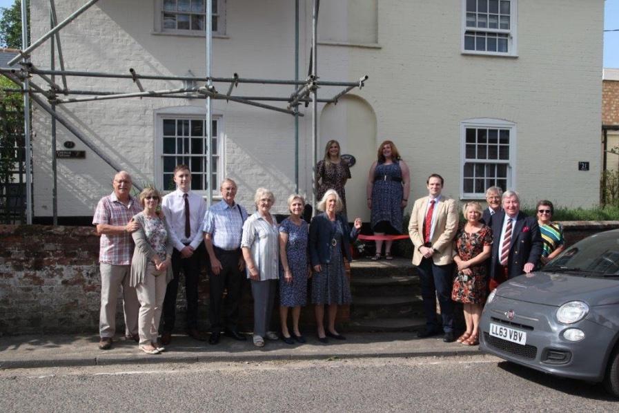 High Sheriff opens Rosie's Cottages in Coddenham