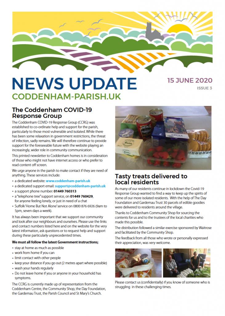Newsletter 1 pdf download image placeholder and link