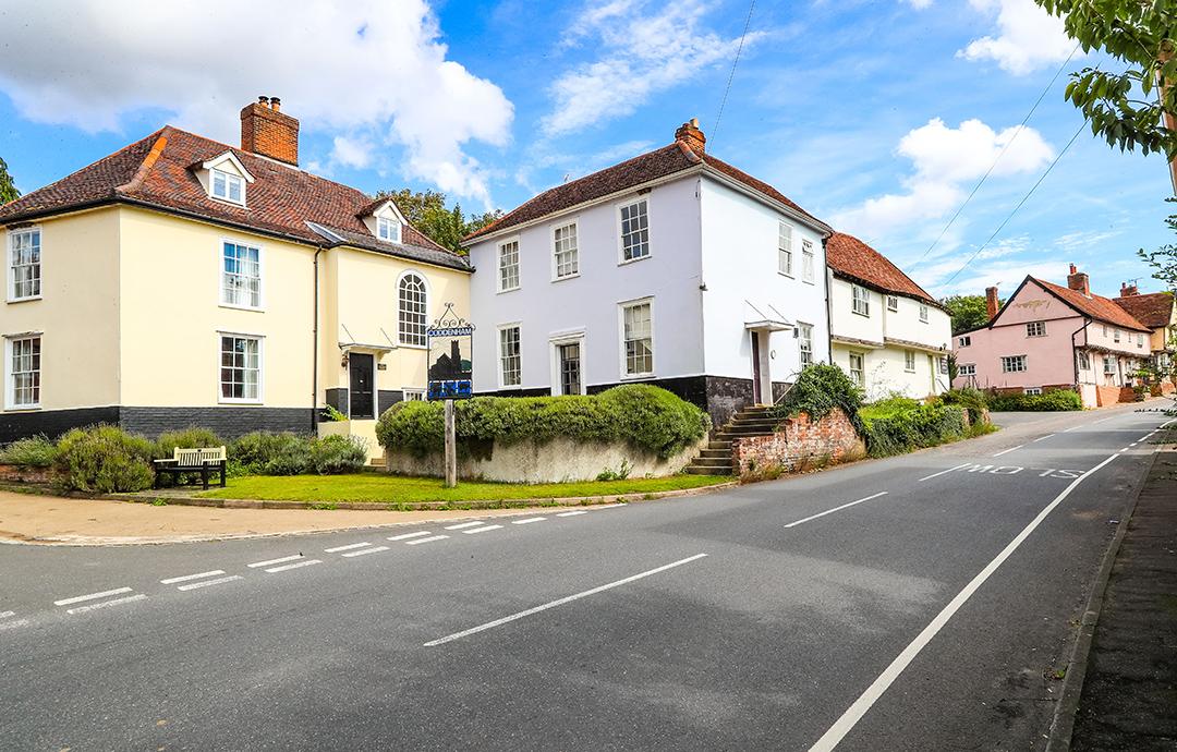 View of Coddenham Village Centre