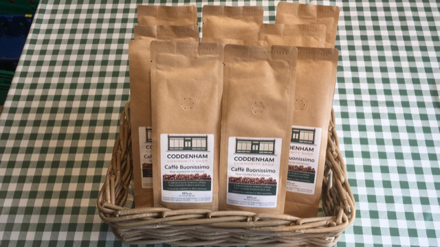 Coddenham Community Shop launches its own blend of ground coffee
