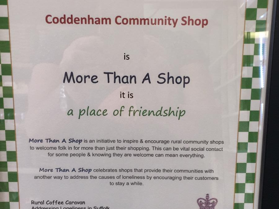 Coddenham Community Shop – Officially Friendly!