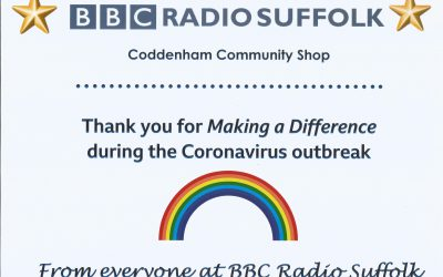 Thank you BBC – Community Shop Receives Local Award