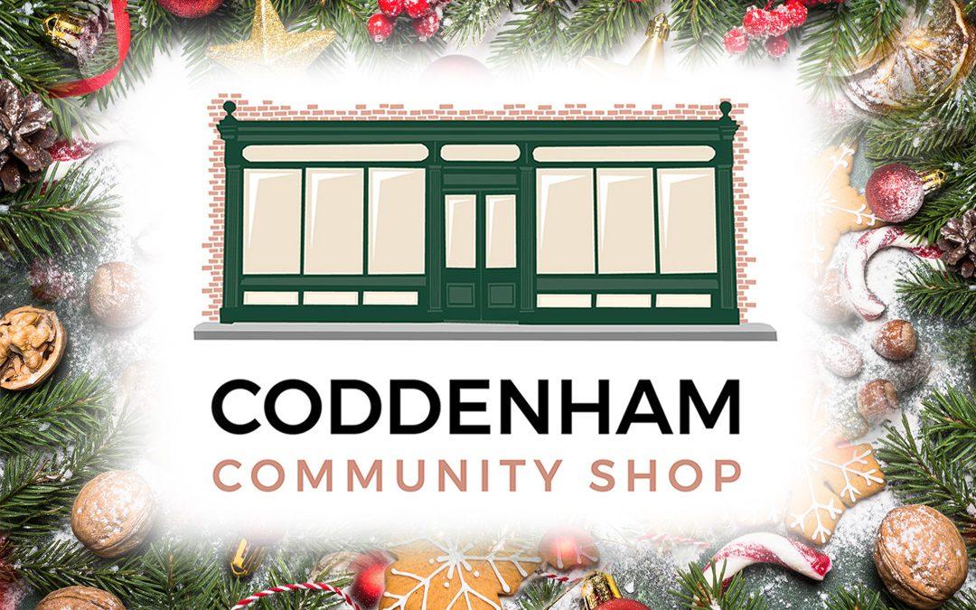 Happy Christmas from Coddenham Community Shop