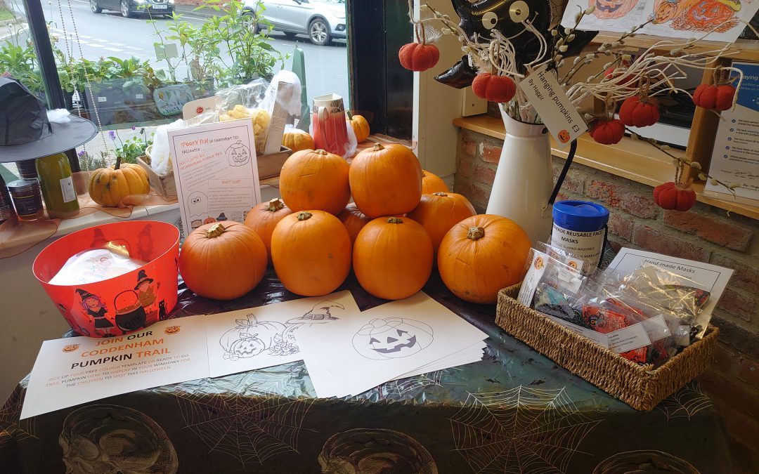 Halloween at Coddenham Community Shop