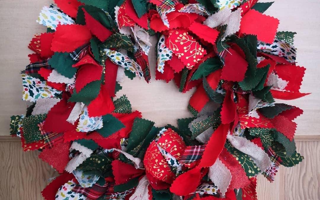Crafty Christmas Wreaths at Coddenham Community Shop