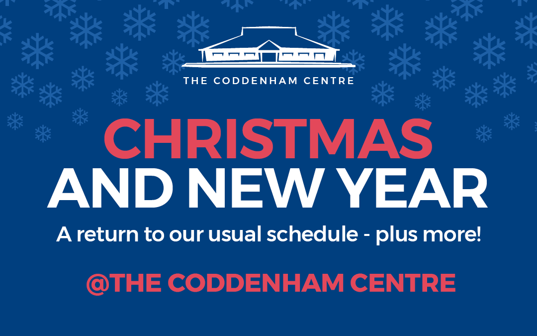 Christmas and New Year at The Coddenham Centre