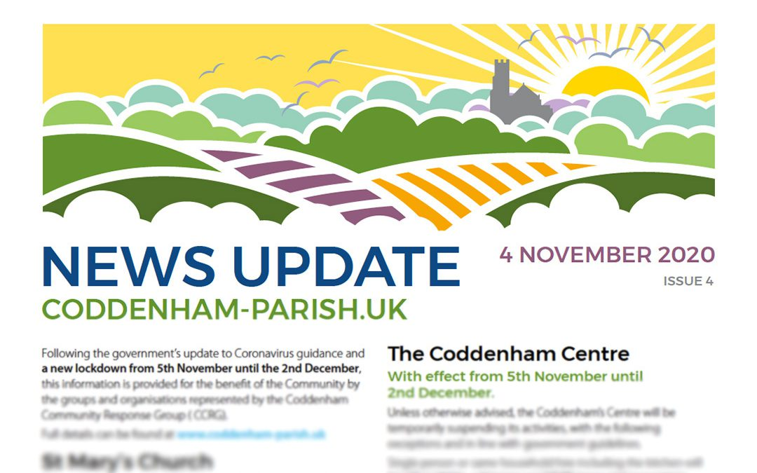The Latest COVID19 Bulletin from the Coddenham Community Response Group