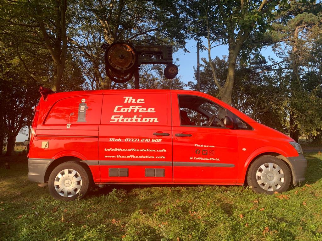 Coffee station van
