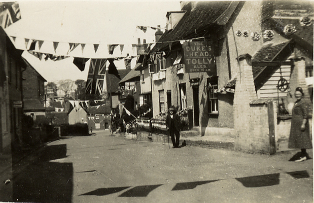 High Street Coddenham 1935 Jubilee
