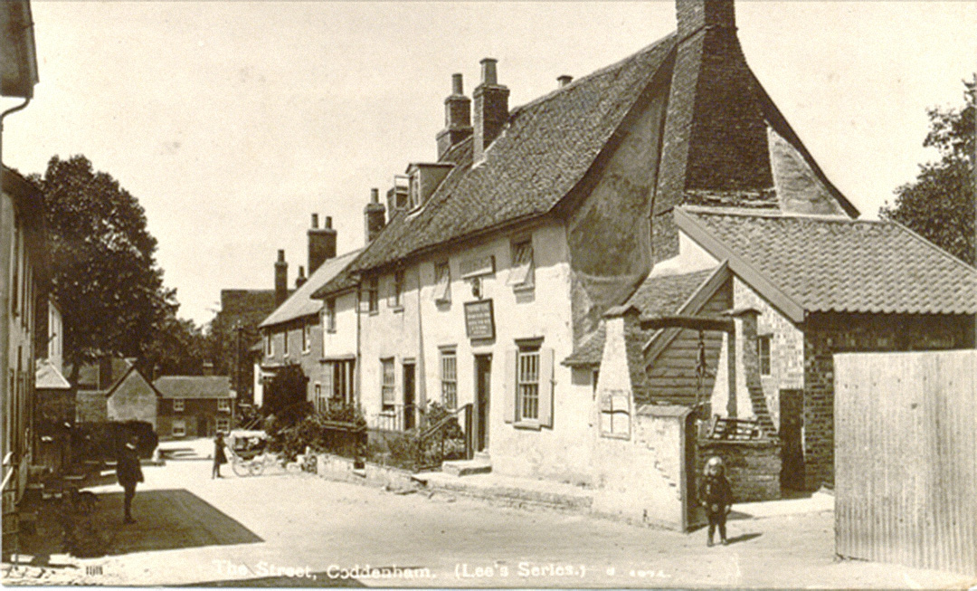 The Dukes Head Coddenham c1904
