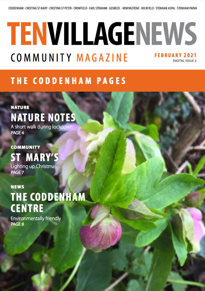 10 Village News Feb 2021 Coddenham Pages front Cover