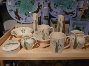 snow drop pottery range