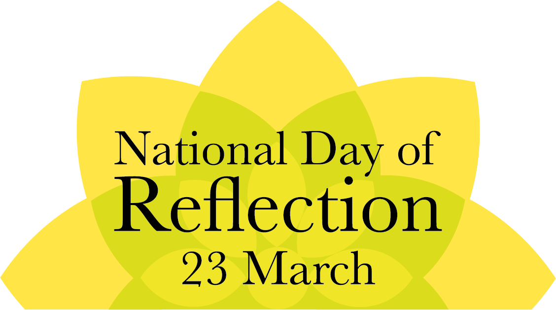 national day of reflection logo