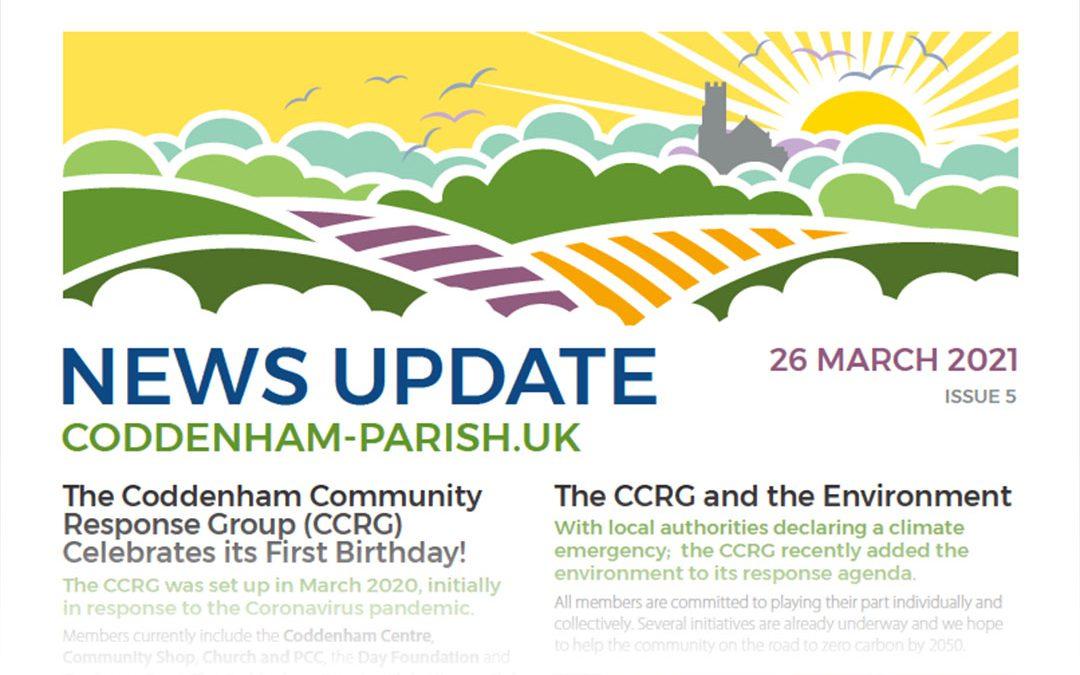 Your Coddenham Community Response Group Newsletter is Here