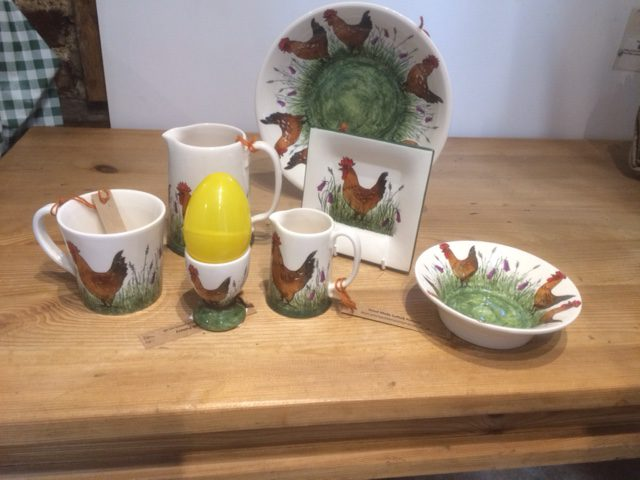 Eggscellent Ceramics at Coddenham Community Shop