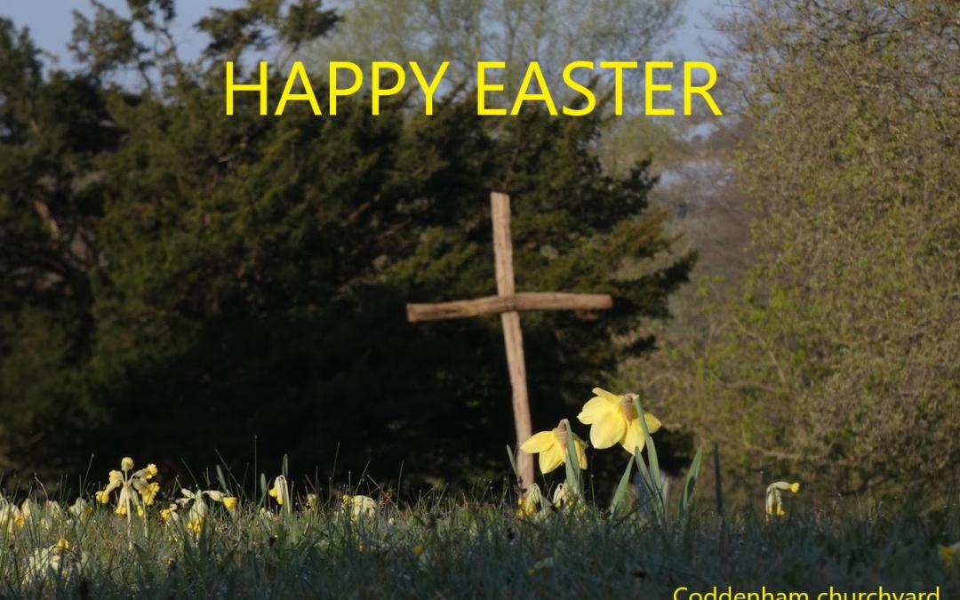 Happy Easter from St Mary's Coddenham