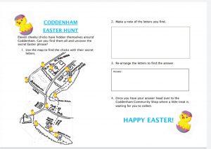 Easter Hunt Map