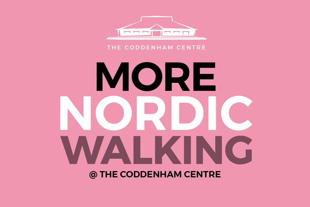 More nordic walking at the coddenham centre