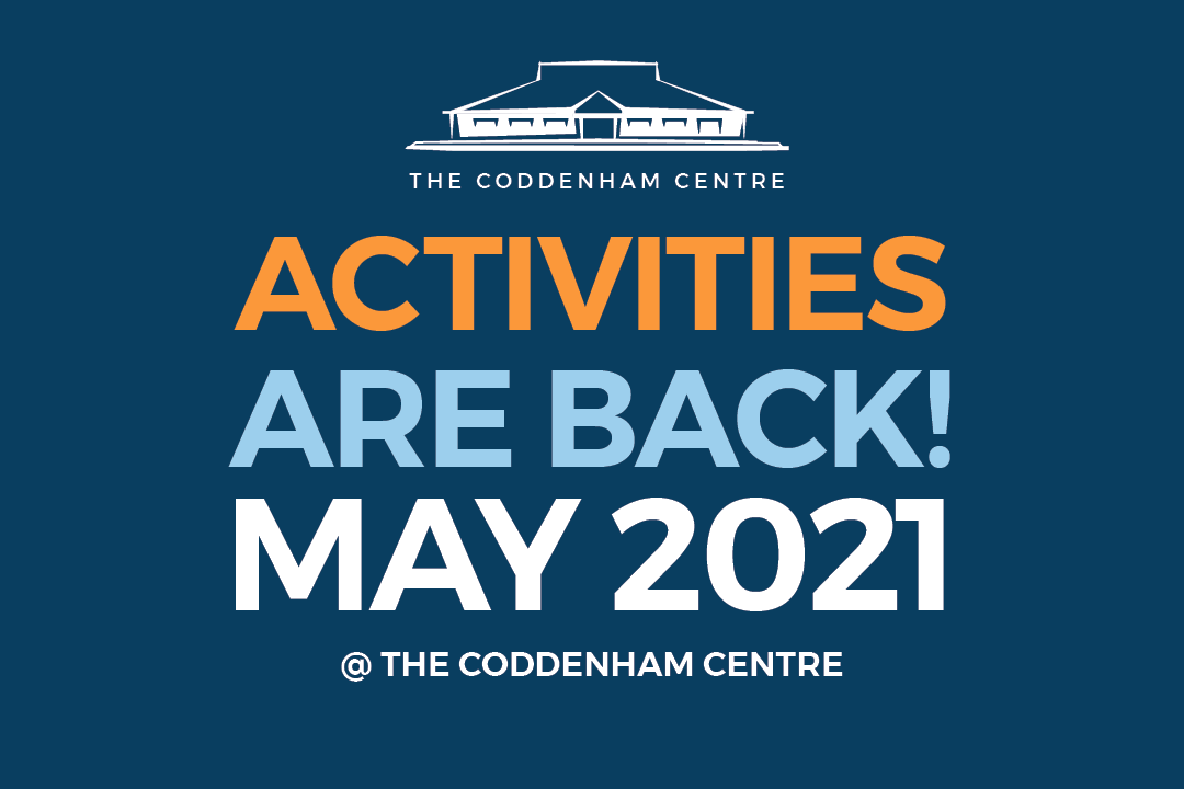 Coddenham Centre Activities are back