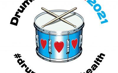 Coddenham Parish Resident Co-ordinating Global Drumming Event for Charities.