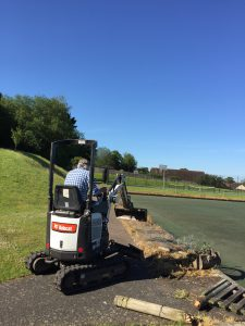 Clearing the fence @ TCC
