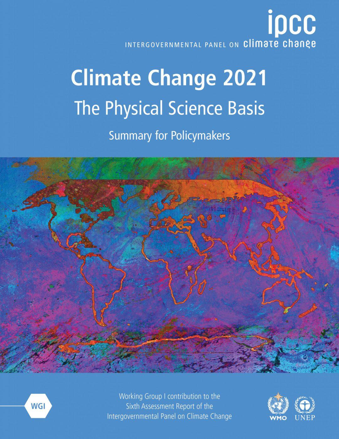 Climate Change Report ipcc 2021