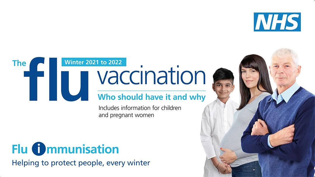 NHS Flu Vaccination Image