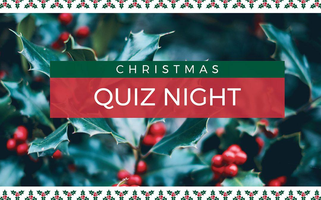 Advance Notice – Return of the Christmas Quiz @the Coddenham Centre